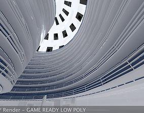 3D model Ultra Modern Futuristic Data Center