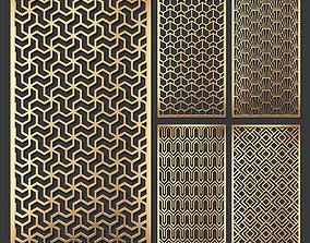 3D Decorative panel set 55