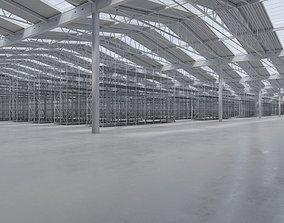 3D asset Warehouse Interior 8