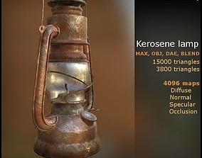 Kerosene Lamp lowpoly gameready 3D model
