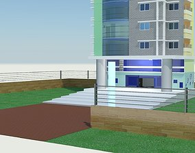Office commercial residential Building outlook model