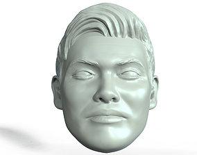 Kazuchika Okada 3D printable portrait sculpt