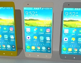 phone android 3D model