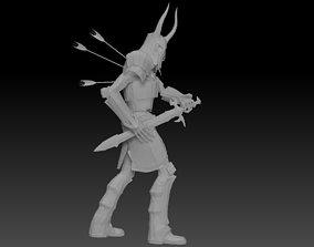 3D Warrior SkyRim