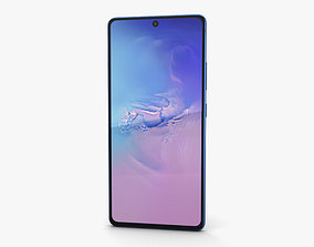 3D model Samsung Galaxy S10 Lite Prism Blue