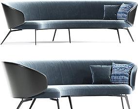 Lema Bice Strip Occasional Sofa 3D