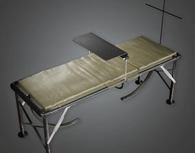 Military Field Bed - GEN - PBR Game Ready 3D model