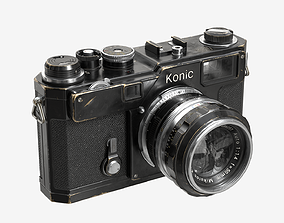 Low-poly Camera Black 3D model