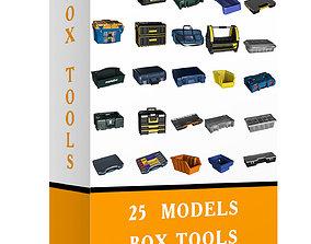 3D asset 25 MODELS GARAGE BOXES