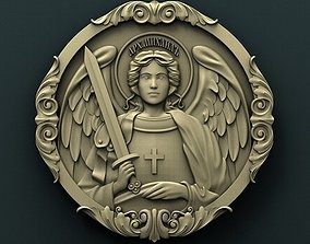 cathedral 3D printable model Archangel Michael