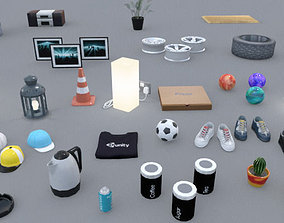 3D asset Small Props Pack