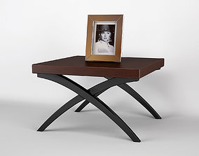 Mocha Grace SideTable Christopher Guy 3D