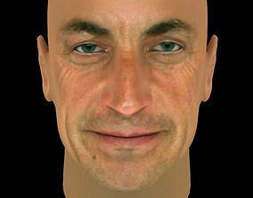 Nicolas Sarkozy 3D model