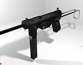 Submachine Gun - M3 Grease Gun 3D