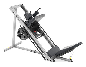 Leg press Body-Solid GLPH1100 3D