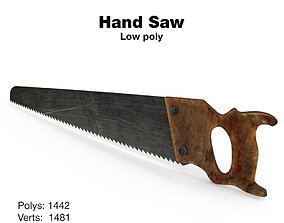 Hand saw 3D model handsaw