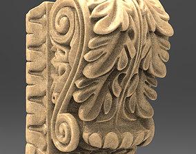 Architectural Decorative 7 3D model sculpture