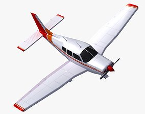3D model Piper Cherokee