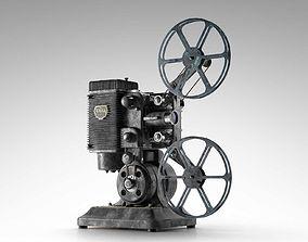 Ampro 16MM Projector retro 3D model