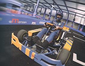 3D model Karting