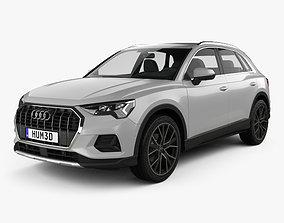 3D model Audi Q3 Advanced 2018