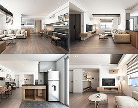 3D model M Apartment Interior