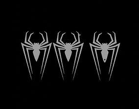 Spidermans logo 3D print model