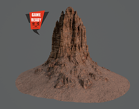 3D model CANYON HILL 2 Game Ready