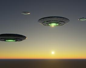 Kit ufo 3D models realtime