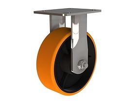 3D model 150 HD Castor wheel - Urethane