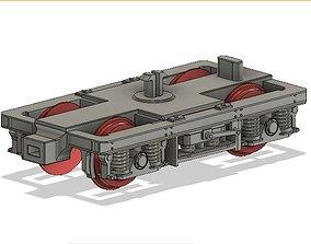 OO MK2 and MK2A Coach Bogie with NEM 3D print model 4