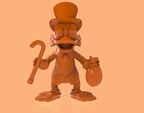 3D print model Scrooge McDuck character
