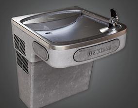 Water Fountain - HSG - PBR Game Ready 3D asset