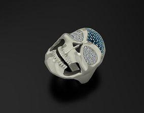 Ring The grim reaper Skull ring 3D print