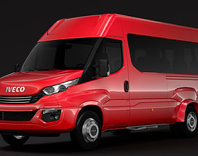 Iveco Daily Minibus L3H2 2017 3D