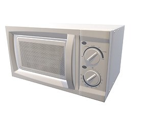 3D model Microwave Game Ready