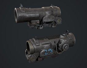 ELCAN SPECTER 3D asset