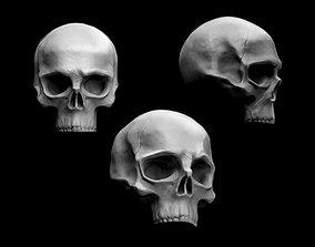 Skull 3D print model death