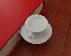 Coffee Cup Bookmark 3D printable model