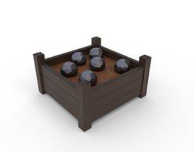 3D model Cannon balls - PBR