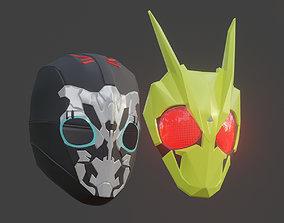 3D printable model Kamen Rider Zero one Helmet
