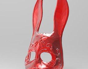 STL MASK - Bunny 3D printable model