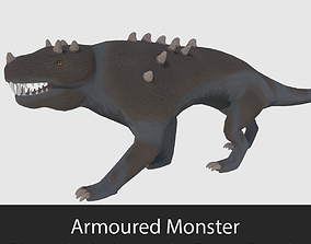 3D asset Armoured Monster - Game Ready