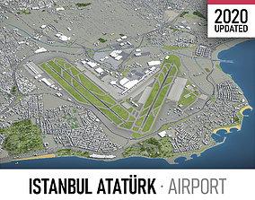 3D asset Istanbul Ataturk Airport - ISL