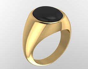 3D print model simple ring men