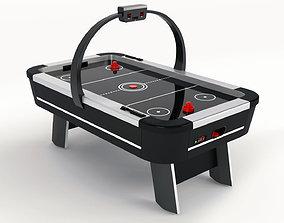 Air Hockey Table - 3D Model hockey