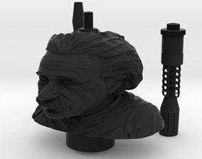 SAMAN ALBERT EINSTEIN HOOKAH FULL KIT 3D print model