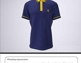 3D print model shirt polo or Golf Shirt