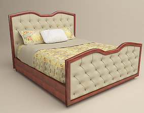 3D Baker Mr 2021Q Upholstered Bed furniture