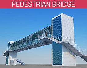 3D model Pedestrian Bridge pedestrian